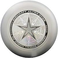 Discraft Ultra-Star Ultimate Frisbee 175 gram Championship Sportdiscs-Silver