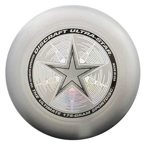 Ultimate Frisbee 175 Gram Championship Sportdiscs-Silver ()