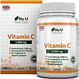 Vitamin C 1000mg 180 Tablets (6 Month