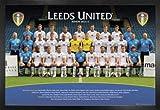 1art1 Fußball Poster und MDF-Rahmen - FC Leeds United,