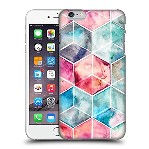 Offizielle Micklyn Le Feuvre Hexagon Kuben Muster 6 Ruckseite Hülle für Apple iPhone 6 Plus / 6s Plus