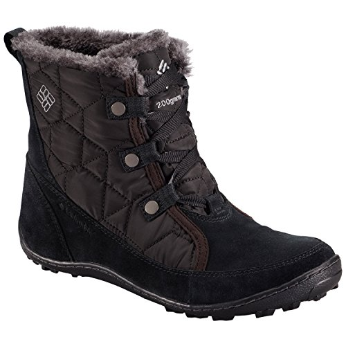 Columbia Minx Shorty Daim Botte d'hiver Black