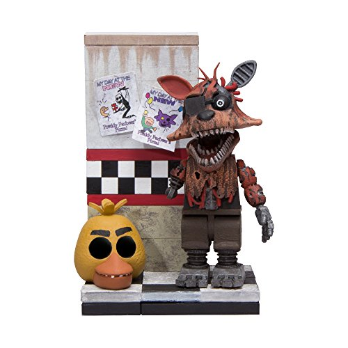 McFarlane Toys Five Nights At Freddy's Micro Cam 08 Hallway Construction Set