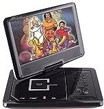 Takara DIV 109 Lettore DVD portatile 9', porta USB, colore: Bianco