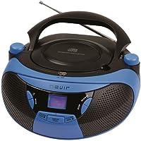 RADIO CD MP3 NEVIR NVR475U AZUL
