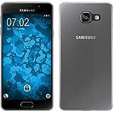 PhoneNatic Coque silicone Clear slim case Case Samsung Galaxy A3(2016) A310Galaxy A3(2016) A310Étui + 2films de protection