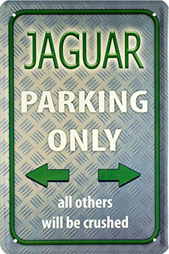 jaguar-parking-only-auto-car-20x30-cm-blechschild-1587