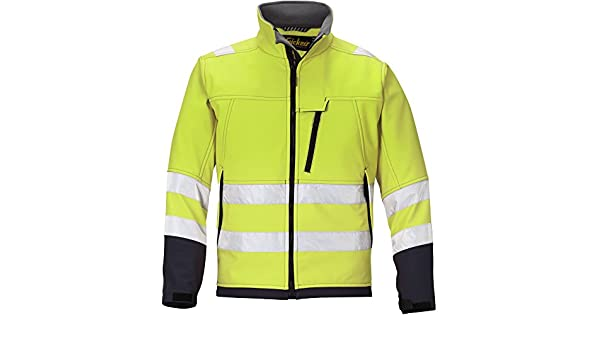 Snickers 16336674007 Jacket High-Vis Class 3 Size XL in Yellow