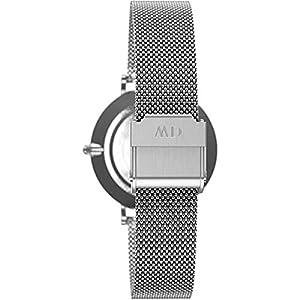 Daniel Wellington DW00100164 - Reloj de pulsera de cuarzo para Mujer, con correa de malla plateada de Daniel Wellington