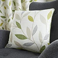 Green Leaf Trail Cushion Cover 17 X 43cm 43 Cm