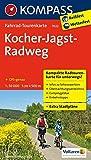 Kocher-Jagst-Radweg 1 : 50 000 (KOMPASS-Fahrrad-Tourenkarten, Band 7022)