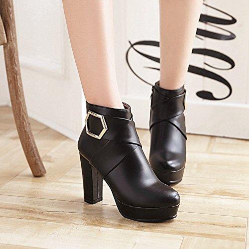 Chaussures Femme Misssasa Élégant Noir