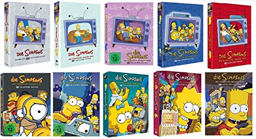 Die Simpsons Staffel 1-10 (1+2+3+4+5+6+7+8+9+10) / DVD Set