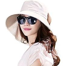 SIGGI - Gorra de verano con visera y protección para el cuello 9ecd226b815b