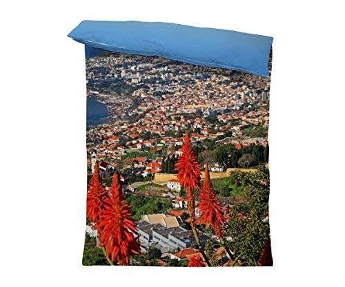 fotobar!style Bettbezug 135 x 200 cm Funchal