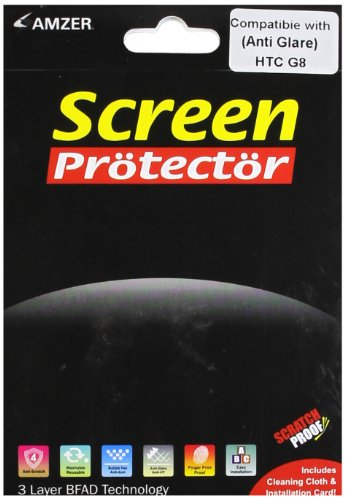 Amzer AMZ89101 Anti-Glare Screen Protector with Cleaning Cloth for HTC Wildfire  available at amazon for Rs.186