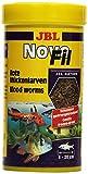 Novo JBL complemento mangime per waehlerische acquari pesci, rossi larven zanzare, NOVOFIL