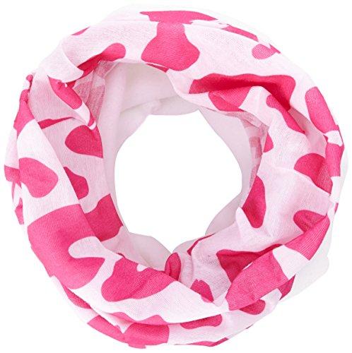 Sinner Damen Bandana Fleece Halstuch, Pink Leopard, One Size, SIWE-614-70 (Pink Leopard Fleece)