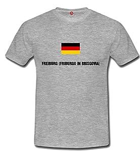 T-shirt Freiburg (friburgo in brisgovia) Gray