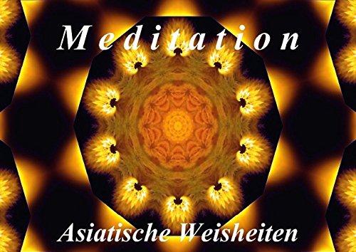 Meditation - Asiatische Weisheiten (Posterbuch DIN A4 quer): Wunderschöne Mandalas und asiatische Weisheiten laden zum Entspannen ein. (Posterbuch, 14 ... [Taschenbuch] [Dec 13, 2013] Art-Motiva, k.A.
