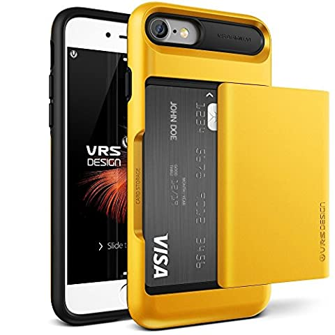 Coque iPhone 7, VRS Design [Damda Glide] [Jaune] - [Porte
