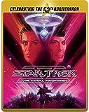 Star Trek 5 - The Final Frontier (Limited Edition 50th Anniversary Steelbook) [Blu-ray] [2015] UK-Import, Sprache-Englisch, Deutsch...