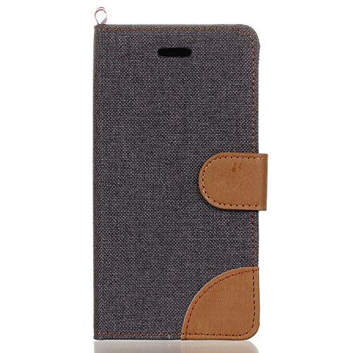 Leather Case Cover Custodia per Samsung Galaxy A5(2016)SM-A510F ,Ecoway Caso