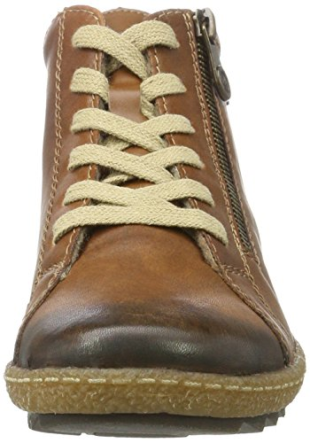 Remonte Damen R4774 Combat Boots Braun (Chestnut 22)
