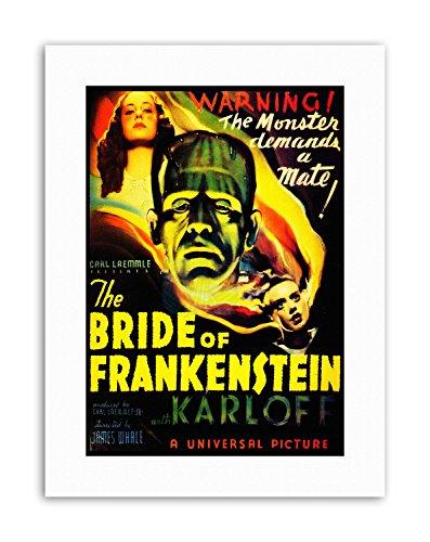 FRANKENSTEIN BORIS KARLOFF MONSTER HORROR WHALE USA Poster Canvas art Prints (Boris Frankenstein)