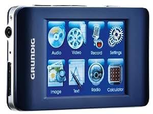 grundig mpixx 8400 fm mp3 player 4 gb blau. Black Bedroom Furniture Sets. Home Design Ideas