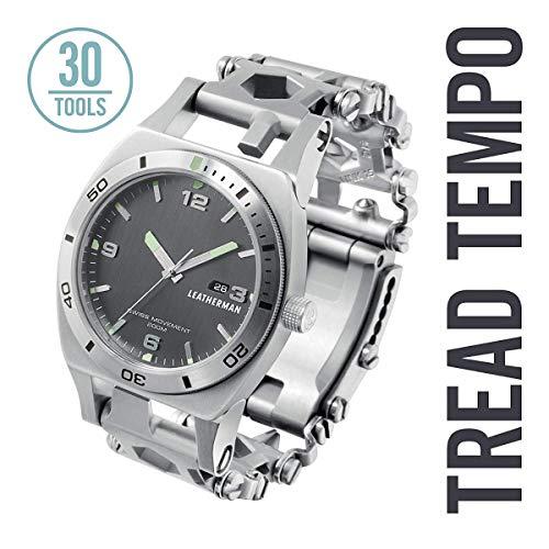 LEATHERMAN LT832421 Tempo BRAZALETE TREAD, Silber