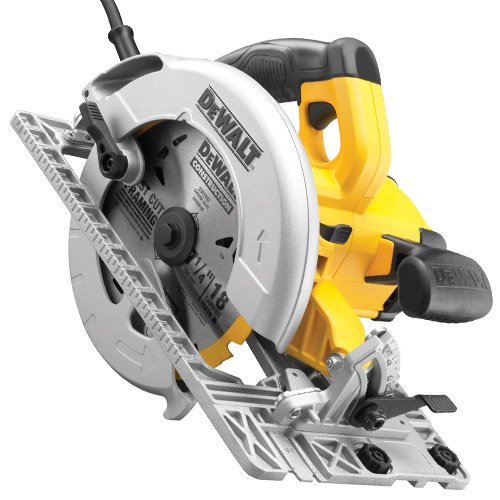 DEWALT DWE576K-GB 240V 190MM PRECISION CIRCULAR SAW & TRACK BASE 1600 WATT