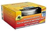 Favorit Mückenspirale + Metalltopf, silber – Insektenschutz Wirkzeit ca. 5 Stunden, inkl. 10 Spiralen – 1288S