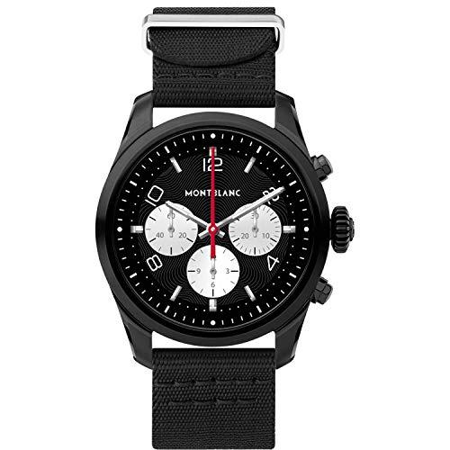 Reloj Montblanc Summit 2 Smartwatch 119560 Acero Negro Nylon Negro