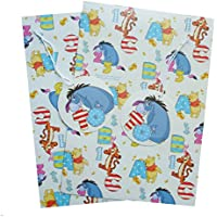 Winnie the Pooh Gift Paper/Wrapping Paper Plus tag carta regalo (Disney)