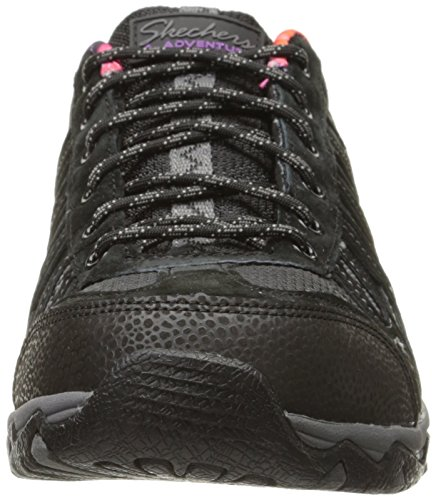 Skechers Quartz-Citrine, Baskets Basses Femme Noir - Noir
