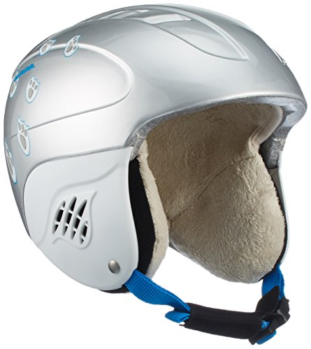 ALPINA Kinder Carat Skihelm, Ice Bear, 51-55 cm
