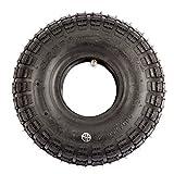 Reifen + Schlauch (Stückzahl kann ausgewählt werden) 4.10/3.50-4 für Mach1 Elektro und Benzin Scooter in Off-Road (1x Reifen + 1x Schlauch)