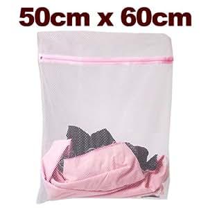 SAC A LINGE Filet lave linges 50x60cm pour protecteur linge en Machine a laver delicat Mesh