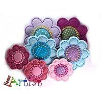 Blume Haarspange – freie Farbwah