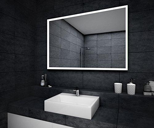 Badezimmerspiegel nach Maß mit LED Beleuchtung