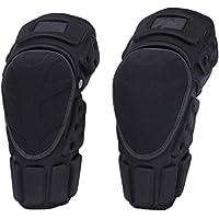 Rodilleras Almohadillas protectoras para la rodilla Adulto Transpirable ajustable de fibra de aramida Motocross MTB espinilleras para montar Ciclismo Patinaje Esquí Protector ( tamaño : M(40-46) )