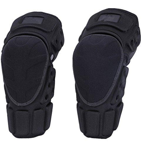 Knieschoner Knieschützer Kniebandage für Sport Erwachsene Atmungsaktiv Einstellbar Aramidfaser Motocross Mountainbike Fahrer Fahrrad Skaten Skifahren Knieschützer (Größe : L(44-52))