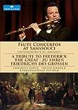 Tribute To Frederick Great (Flute Concertos At Sanssouci) (Emmanuel Pahud / Kammerakademie Potsdam/ Trevor Pinnock ) (C Major: 711308) [DVD] [2012] [NTSC] by Emmanuel Pahud