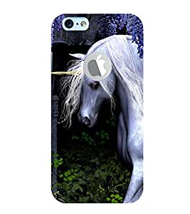99Sublimation White Unicorn 3D Hard Polycarbonate Back Case Cover for Apple iPhone 6S