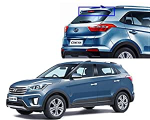 Auto Pearl - Premium Quality OE Type Car Spoiler For - Hyundai Creta (Sleek Silver)