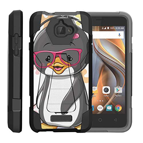 turtlearmor | Coolpad Fall | 3622 A Fall [Dynamischer Shell] Hybrid Duo Cover Auswirkungen saugfähig Schock Silikon Combo Hart Shell Ständer Animal Design -, Cute Penguin Animal-print Combo