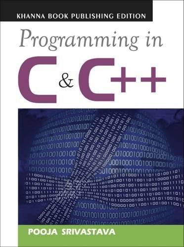 Programming in C & C++