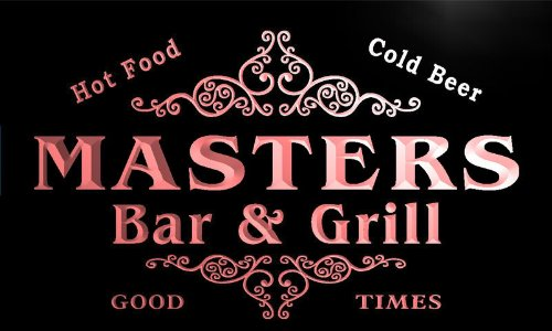 u28745-r-masters-family-name-bar-grill-home-beer-food-neon-sign-enseigne-lumineuse