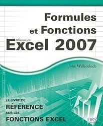 Formules et Fonctions Excel 2007